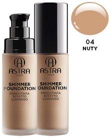 ASTRA Fdt shimmer luminoso 04 nuty* - Cosmetici