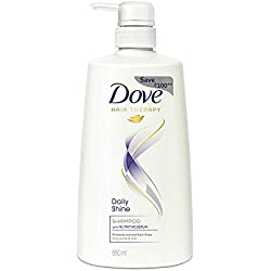 Dove Daily Shine Shampoo, 650 ml
