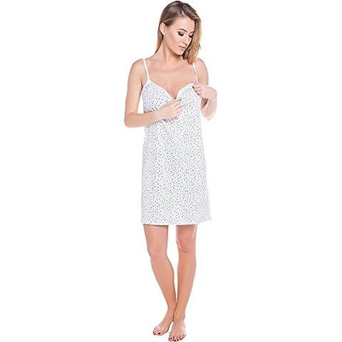 Italian Fashion IF Lactancia Camisón para mujer Cindi Mama 0113