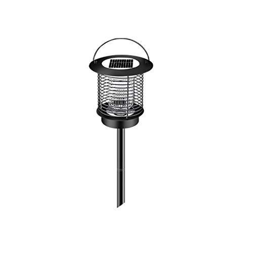 Solarbetriebene LED-Leuchte Moskito Pest Bug Zapper Insektenvernichter UV-Lampe, multifunktionale insektenabweisende tragbare Solarleuchte Wasserdichtes IPX4-Nachtlicht für den Außenbereich Lampenschi