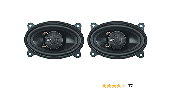 Dietz 2 Wege Koax Lautsprecher 4x6 Zoll 9x15 Cm Oval Elektronik