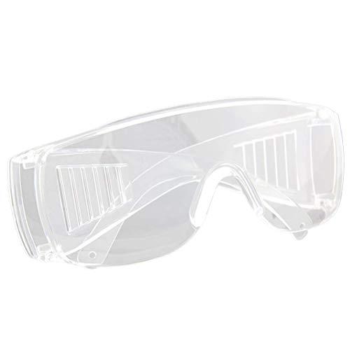 Healifty Schutzbrillengläser PC-Sicherheits-Glas-Motorrad-Schutzbrillen-Staub-Wind-Spritzen-Beweis-hochfester Schlag-Widerstand für das Arbeiten (transparent) -