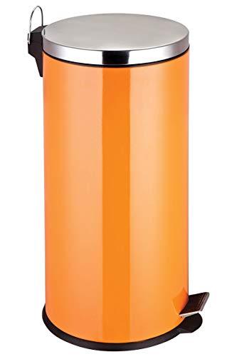 Premier Housewares Papelera, Naranja, Centimeters