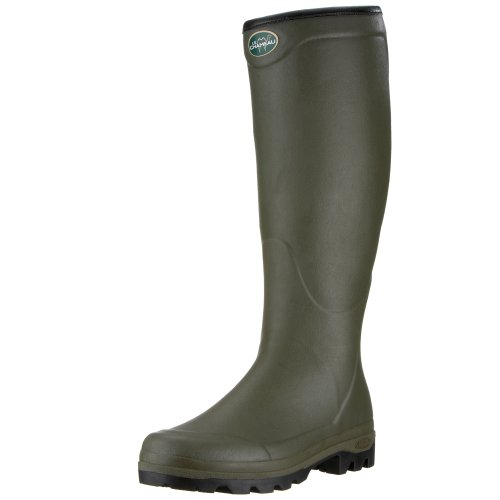 Le Chameau Country All Tracks BCB1747, Bottines homme Vert