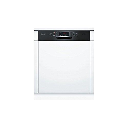Bosch SMI46AB01E Semi intégré 12places A+ lave-vaisselle - Lave-vaisselles (Semi intégré, Taille maximum (60 cm), Noir, boutons, 1,75 m, 1,65 m)