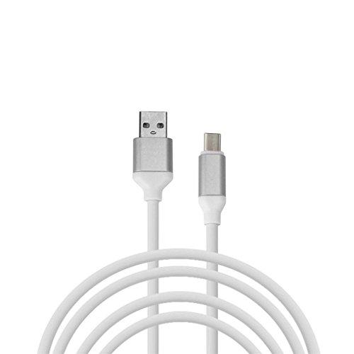 bescita 1,2m Cable USB C cable USB Type-C Carga de Sincronización de Datos para Android teléfono móvil