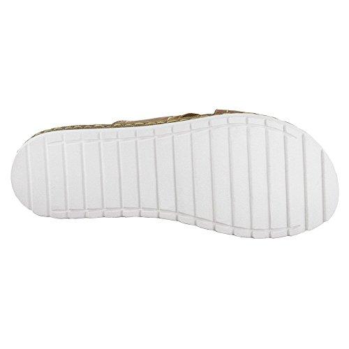 Bella Vita Fasano Damen Leder Sandale Tan