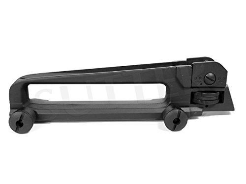 Tragegriff (Carry Handle) mit Visier für AR15, M16 und M4 / Länge: 180mm / für Weaver- und Picatinny-Schienen (Schienen Ar15)