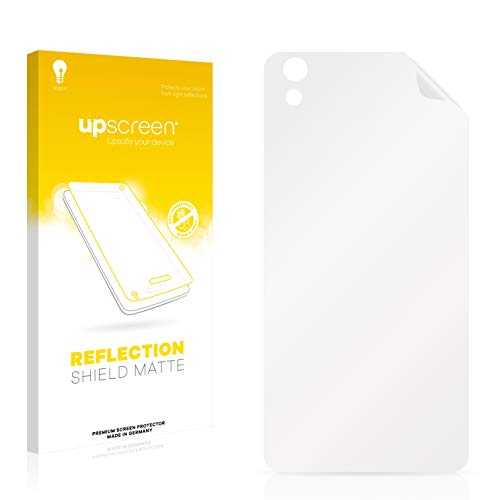 upscreen Matt Schutzfolie kompatibel mit Medion Life X5004 (MD 99238) (Rückseite) - Entspiegelt, Anti-Reflex