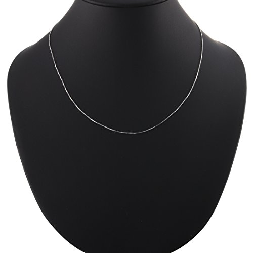 Vaibhav Silver Chain 925 Sterling 1.58 Gram Venetion Necklace 18