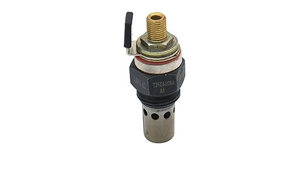 Pre-Heater Glow Plug 2666108 Intake Heater 1446935M1 for Massey Ferguson Tractor 231 240 250 253 1544 2744 Perkins Engine 1004-4 1004-40 1004-4T 1006-6 1006-60 1006-60TA 1006-60TW 1006-6T