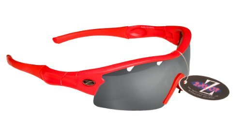 Rayzor profesionales ligeros UV400 rojas Deportes