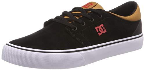 DC Shoes Trase SD, Scarpe da Skateboard Uomo, Multicolore Red/Black-Combo Xkrk, 44 EU