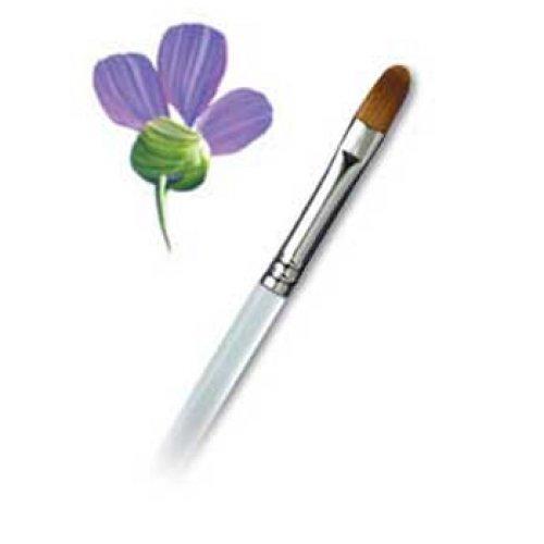 Aqualon Brushes - Filbert #8, R2170-8 by ROYAL BRUSH