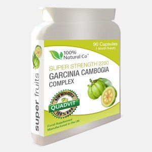 100% Natural Co Garcinia Cambogia Whole Fruit Weight Loss Supplement by 100% Natural Co.