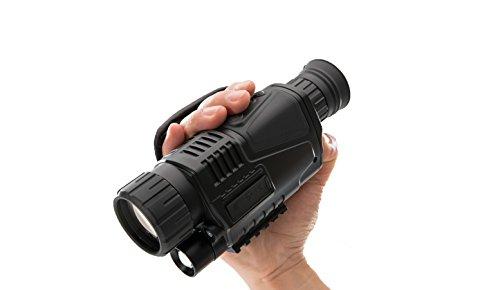 LQUYY Dispositivo De Visión Nocturna Digital 540 Imágenes No Térmicas Monoculares De Cámara De Video Búsqueda De Detección para Rastrear
