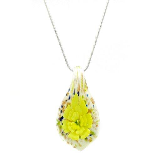 Distinctive decorativa, motivo: fiore giallo, stile veneziano,