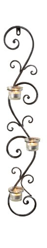 Ranke 229023 Wall-Mounted Candle Holder by Frank Flechtwaren