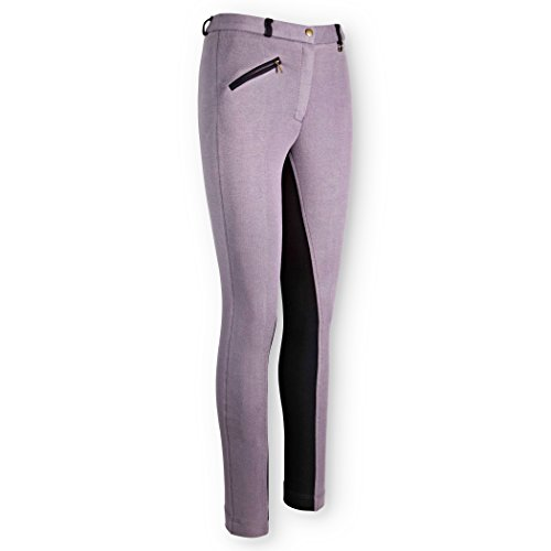 ladies-2-two-tone-jodhpurs-best-fitting-quality-jodhpurs-grey-black-28-uk-10