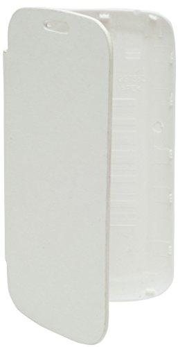Flip Cover For Karbonn S9 Titanium- White- Teflon Bell Series