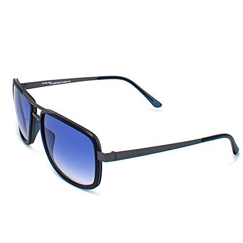 Italia Independent Herren 0071-020-001 Sonnenbrille, Schwarz (Negro), 55.0