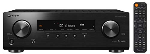 Pioneer VSX-534(B) Receiver (5x150 Watt, Dolby Atmos, DTS:X, MCACC, Advanced Sound Retriever, AM/FM, Bluetooth, USB) Schwarz - Pioneer 6-kanal-verstärker