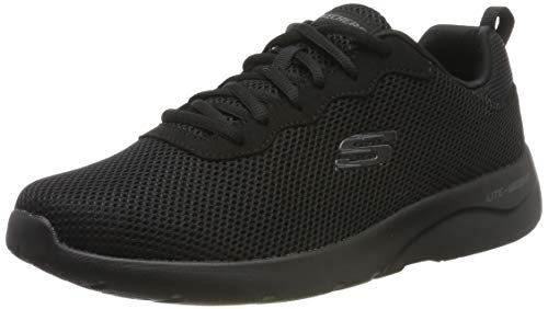 Skechers dynamight 2.0-rayhill, scarpe da ginnastica uomo, nero black bbk, 44 eu