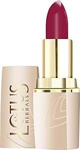 Lotus Makeup Pure Color Moisturising Lip Color, Maroon Blush, 603, 4.2g