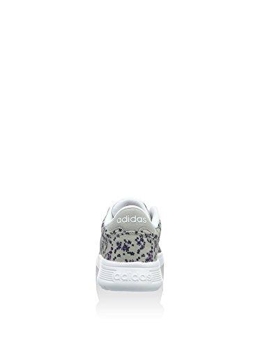 adidas Lite Racer, Baskets Basses Femme, Fuchsia, EU Gris / Violet (Onicla / Plamat / Orqcla)