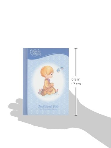 Precious Moments Holy Bible - Blue NKJV