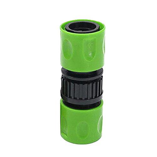 EMVANV Eau Raccord de Tuyau Home Garden Robinet de 3/20,3 cm connecteur Adaptateur Mâle et Femelle raccords Rapides Tuyau d'arrosage Connect Free Size Green
