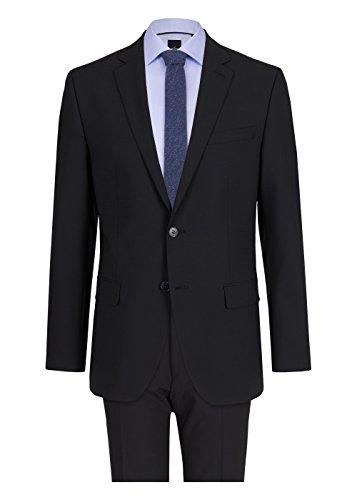 Michaelax-Fashion-Trade - Pantalon de costume - Uni - Manches Longues - Homme Noir (990)