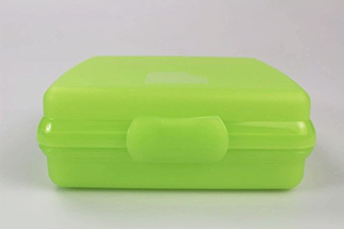 TUPPERWARE A126 To Go Sandwich-Box limette Brotbox Schule Pausenbrotbehälter