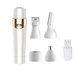 Frauen Rasierer,Kapmore Mini Schmerzloser Haarentferner Nasenhaarschneider Vervollkommnen Sie für Gesichts-Haarentfernung, sicher zu verwenden für jede unerwünschte feine Haare