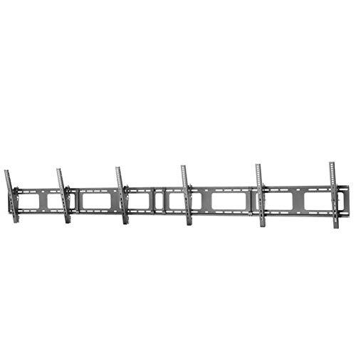 TV-Wandhalterung für DREI Displays - Querformat - Für 40