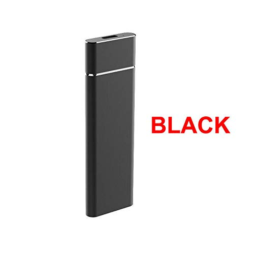 XuBa M.2 NGFF to USB 3.1 Type-C SATA SSD Converter Adapter Enclosure Case 10Gbps Black