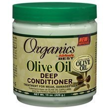 Afrique Meilleur Organics Huile d'Olive profonde Conditioner-76oz