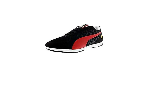 0149e2b64f28 Puma Valorosso 2 Scuderia Ferrari Fashion Sneaker Shoe - Black Rosso Corcsa  - Mens - 9. 5  Buy Online at Low Prices in India - Amazon.in