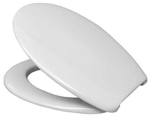 Hamberger 527650 WC-Sitz Lago, mit Nylon-FastFixmutter I0101Y weiß