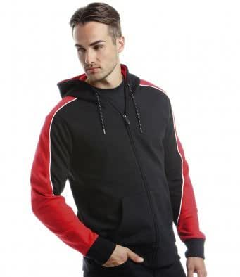 Formula Racing Clubman Zip Hooded Jacket Black/Red XS