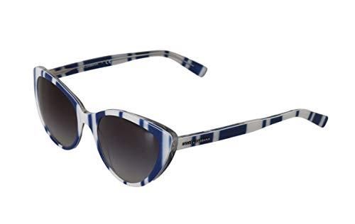 Dolce & Gabbana - Damen Sonnenbrille - Women Sunglasses - White Blue Cat Eye Polarized Sunglasses