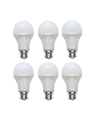 Inddus 3W Base B22 LED Bulb (white) Pack Of 6  available at amazon for Rs.385