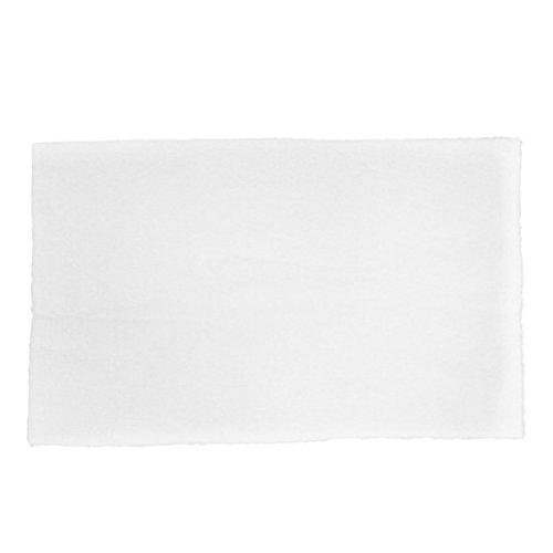 MiKi&Co Schwamm Baumwolle Aquarium Aquarium biochemischer Filter Foam Pad Matte Weiß