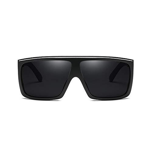L.Z.H.Brillen Gläser Wellington Sonnenbrillenetui mit polarisierten Gläsern & Kreuz-Set Unisex (Color : Schwarz, Size : Kostenlos)