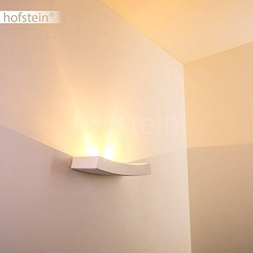 Applique da parete stile moderno- Lampada da muro in Gesso ...