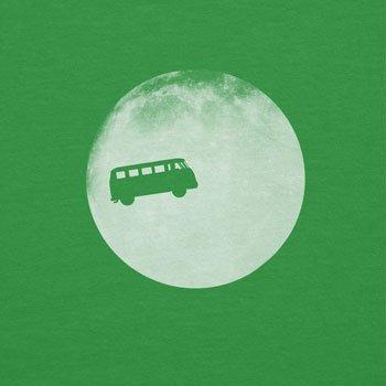 TEXLAB - Full Moon Bulli T1 - Damen T-Shirt Grün