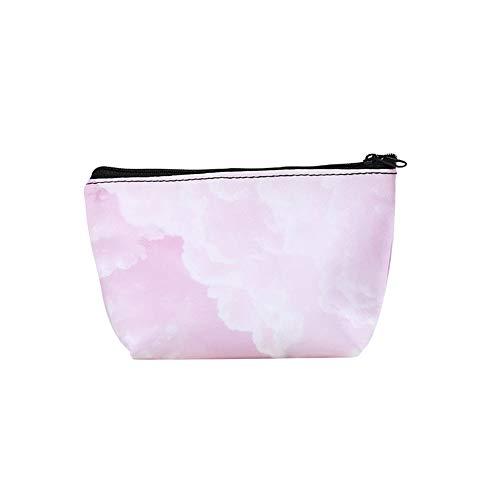 AchidistviQ Tragbare Wassermelonen-Aufbewahrungstasche mit großer Kapazität, tragbar, wasserdicht, süße Flamingo-Wassermelonen-Druck, Make-up-Tasche, Reisetasche 6# (Clearance Designer-handtaschen)