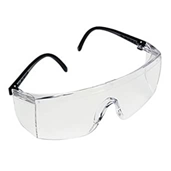 3M 1709IN Dust protection Bike Riding Safety Goggle (Pack of 2),Clear
