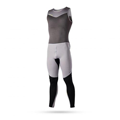Magic Marine Damen Herren Segelhose Air Rash Long John Flatlock, Größe:L