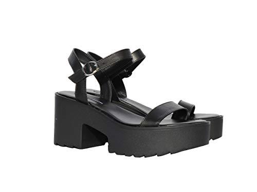 Windsor Smith Sandalo WINDSORSMITH Athena Black Taglia 38 - Colore Nero